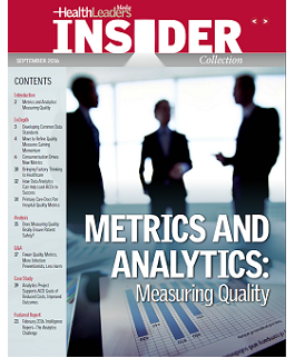 Insider Report: Metrics and Analytics